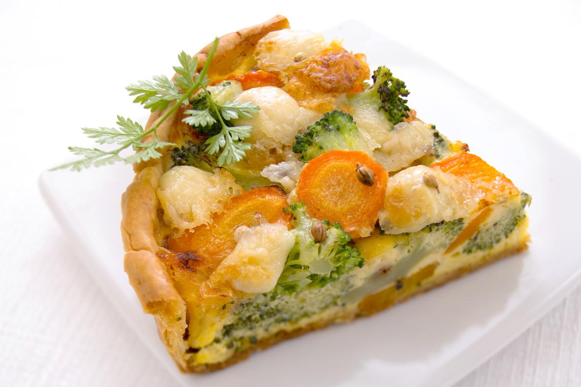 Tourte Légumes Camembert Grand Fermage