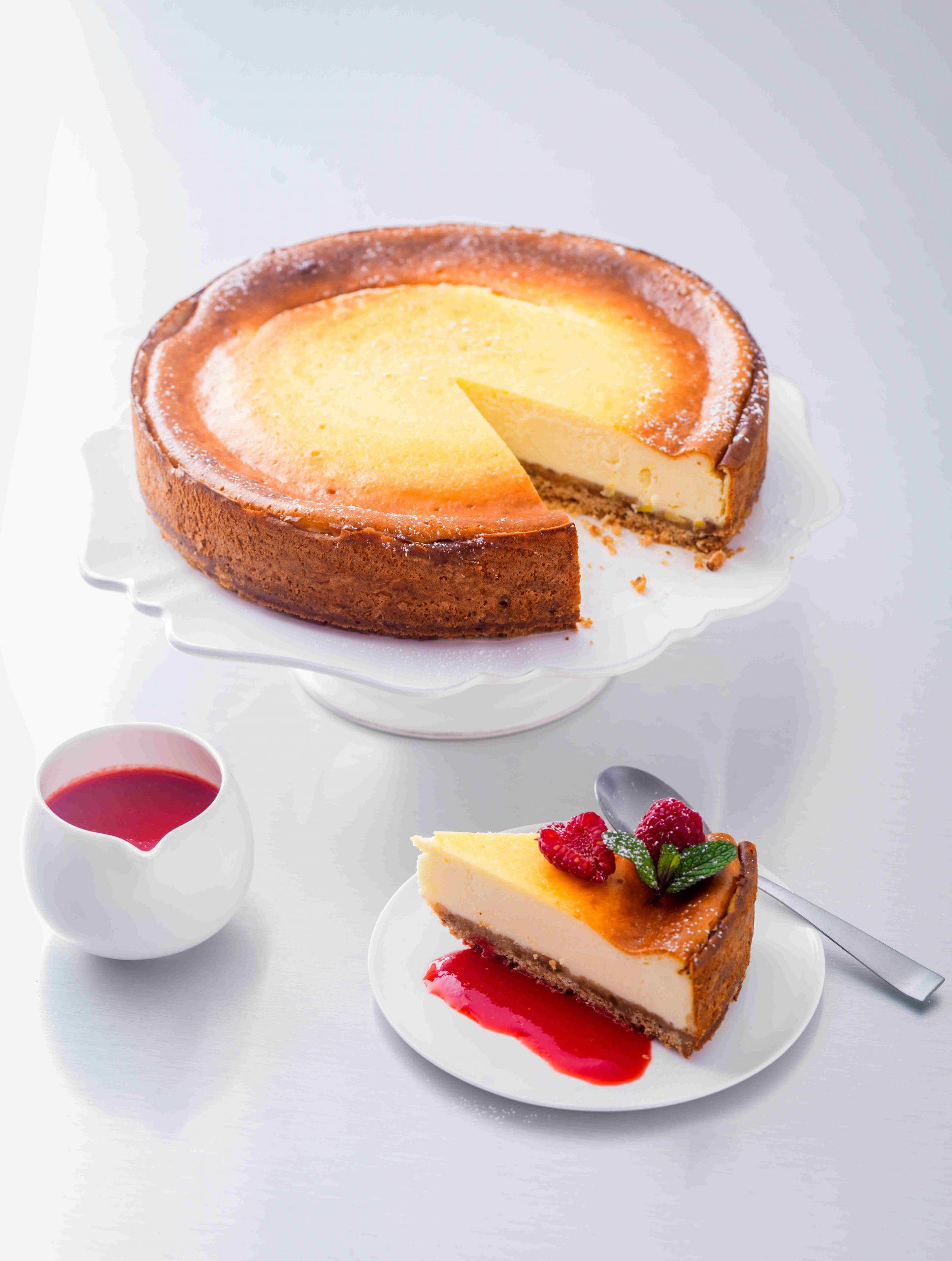 Cheesecake yaourt à la grecque