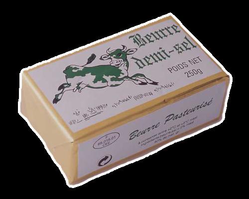 Beurre plaquette demi-sel Vachette