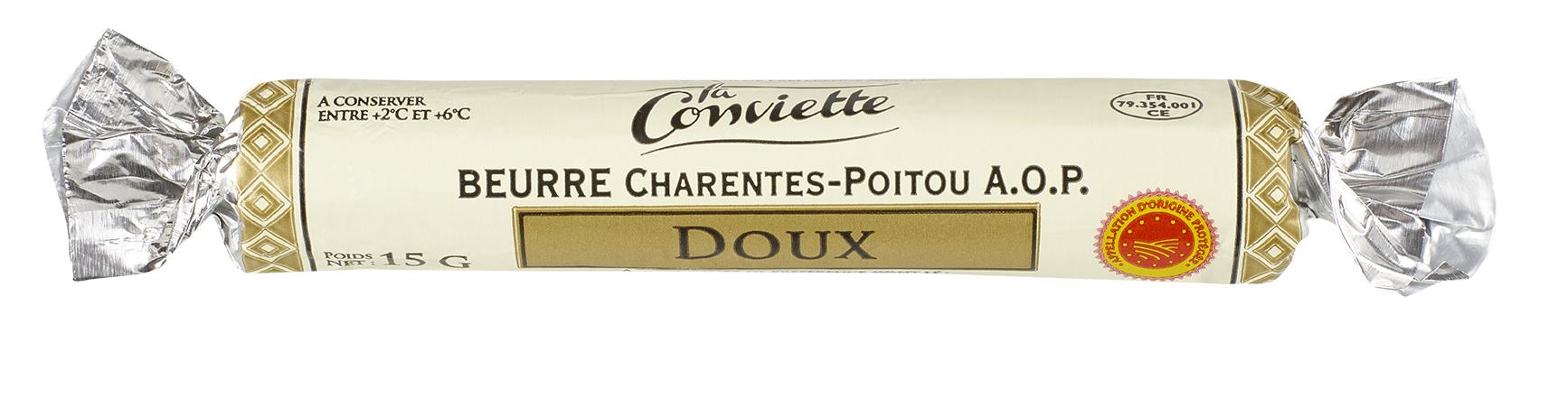 Beurre Conviette AOP doux La Conviette