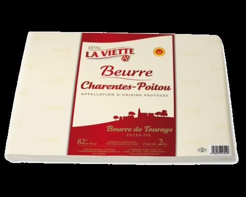 Beurre de tourage 82% MG La Viette