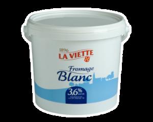 Fromage blanc 3,6% MG La Viette 5 kg