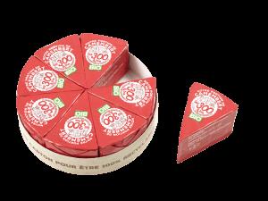 Boîte camembert portion Les 300&BIO