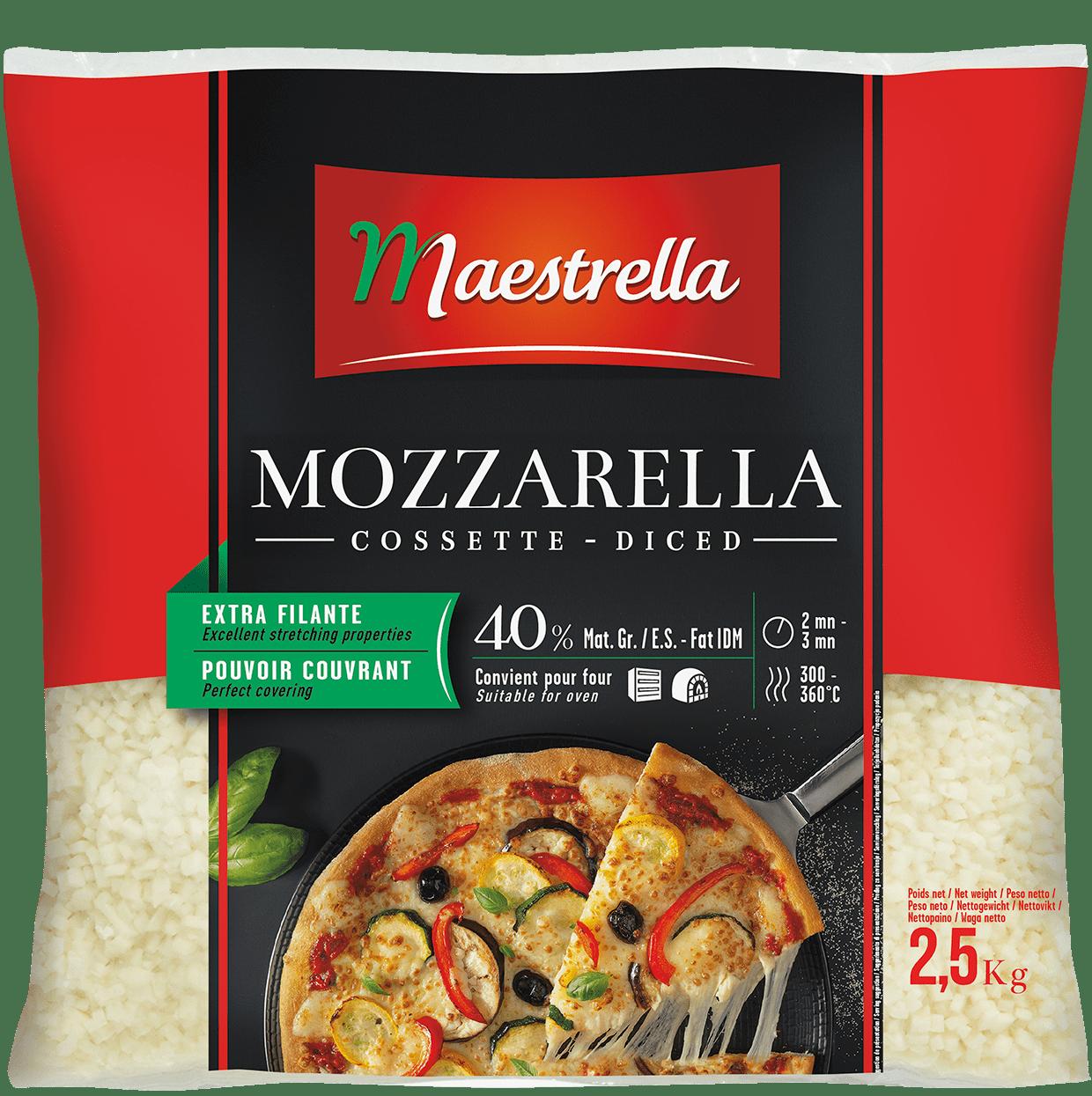 Fromage à pizza Maestrella cossettes