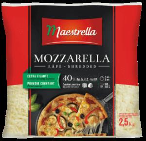 Fromage à pizza Maestrella rapé 2,5 kg