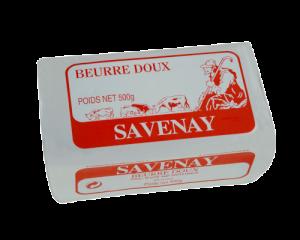 Beurre plaquette doux Savenay